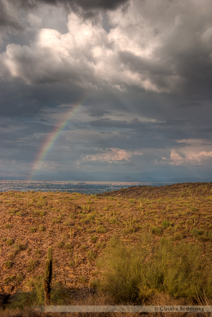Rainbow from South Mountain