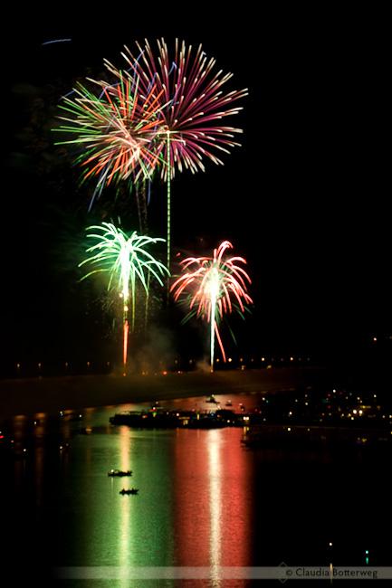 Fireworks at Lake Pleasant
